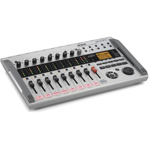 Zoom R24 Multi-Track Recorder, Interface, Controller, and ZR24