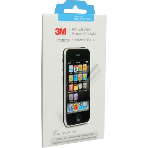 3M Natural View Screen Protector For Apple iPhone NVIPHONE3G/S