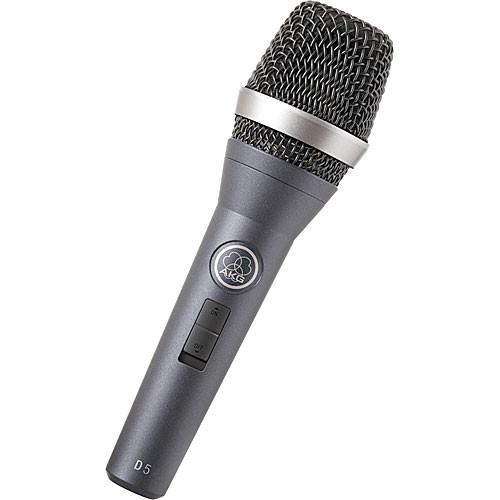 AKG D5 Handheld Supercardioid Dynamic Vocal 3138X00090