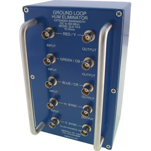 Allen Avionics GLE-75-5 Ground Loop Hum Eliminator GLE-75-5