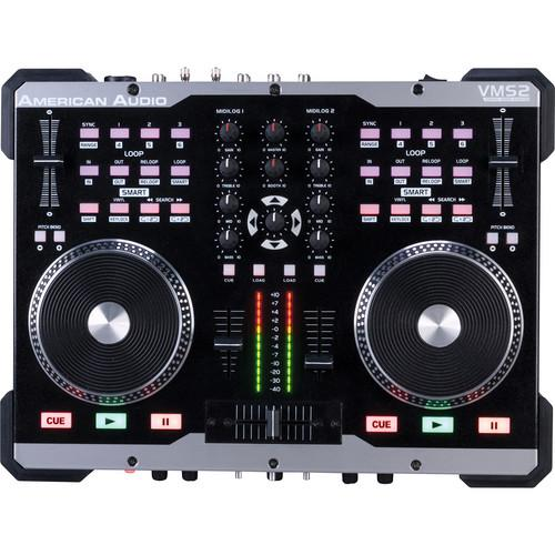 American Audio VMS2 Table Top DJ USB Software Controller VMS2
