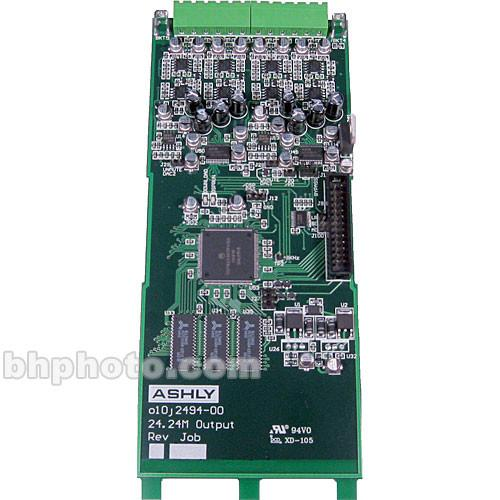 Ashly 24.24M Output Expansion Module NE24.24M OUTPUT