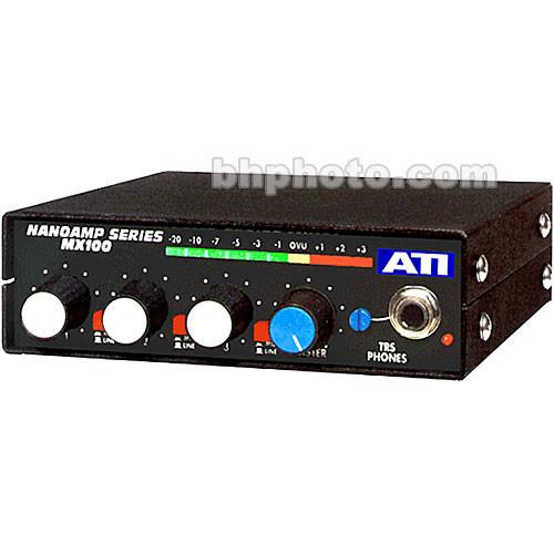 ATI Audio Inc  MX-100 Field Audio Mixer MX100