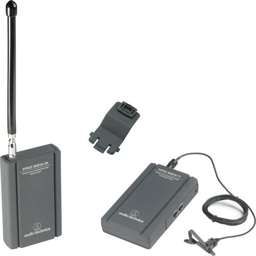 Audio-Technica Pro 88W Camera Mountable VHF Lavalier PRO88W-R35