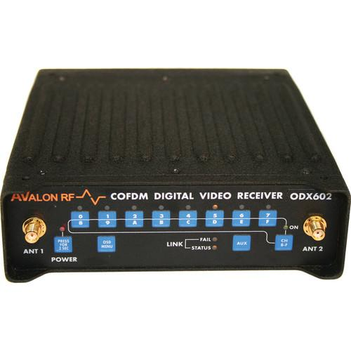 Avalon RF ODX602 COFDM Diversity Digital Video Receiver ODX602