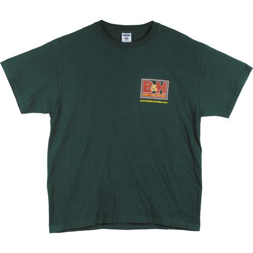 Logo T-Shirt (X-Large, Green) BH-TGRXL
