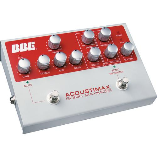 BBE Sound Acoustimax Foot Pedal Preamplifier ACOUSTI-MAX