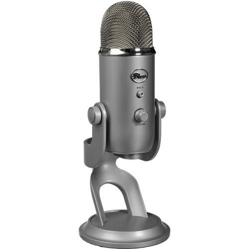 Blue Yeti USB Microphone Kit with Headphones and Software