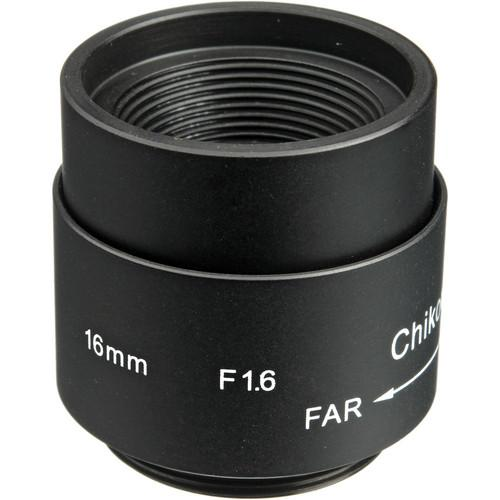 Bolide Technology Group CS-Mount 16mm Fixed Iris Lens BP0002-16