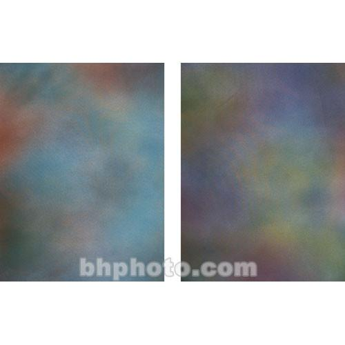 Botero 802 Double Sided Muslin Background, 10x12' - Blue,