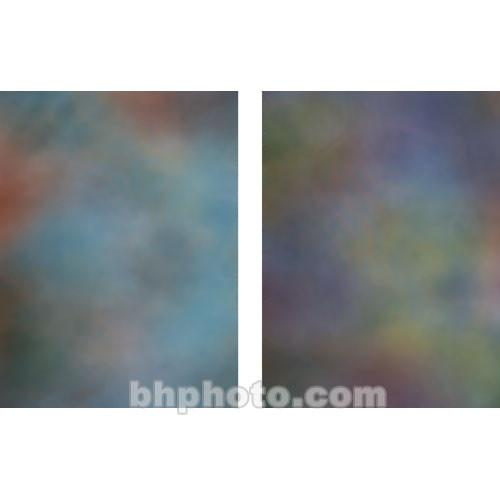 Botero 802 Double Sided Muslin Background, 10x24' - Blue,