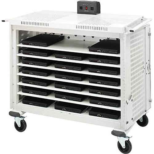Bretford 20 Computer Intelligent Laptop Cart LAP20ULH-CT