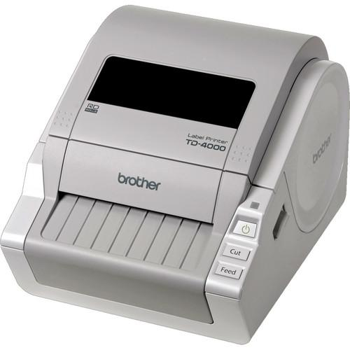 Brother  TD-4000 Desktop Bar Code Printer TD4000