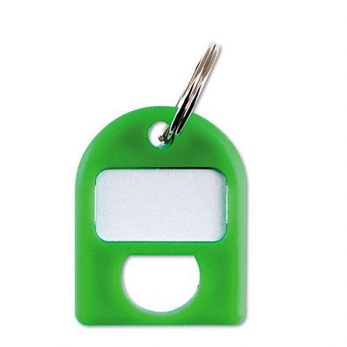 Carl Replacement Security Cabinet Key Tags, (Green) CUI80088