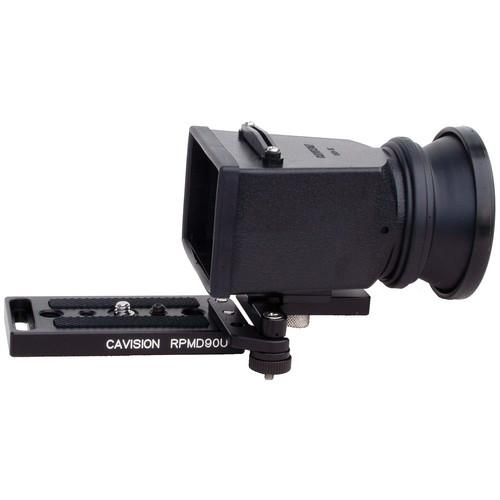 Cavision LCD Viewfinder Set with SA Connection Piece and MHE3Q-P
