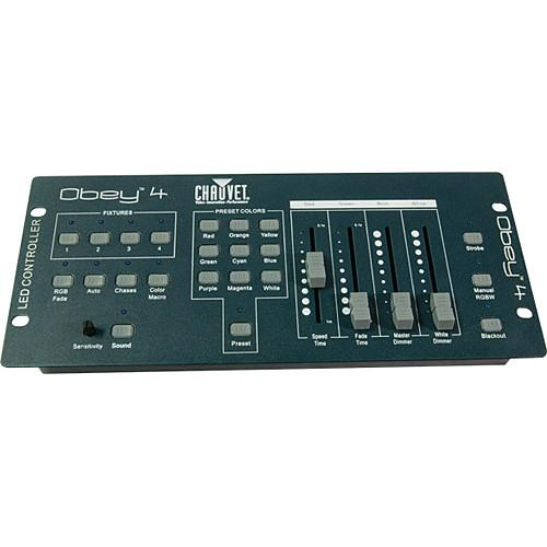 CHAUVET  Obey 4 DMX Channel Controller OBEY 4