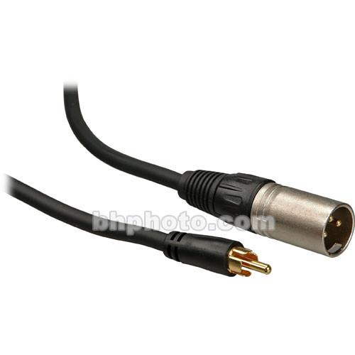 Comprehensive EXF 3-Pin XLR Male to RCA Male Cable XLRP-PP-25ST