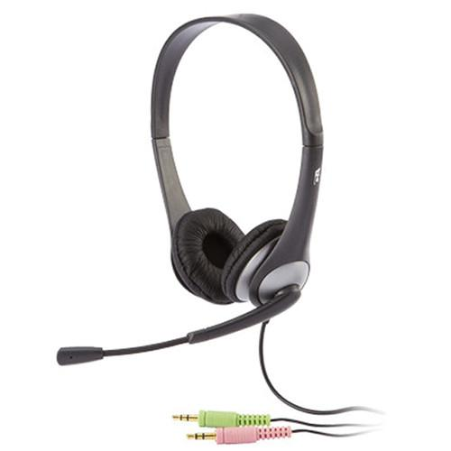 Cyber Acoustics AC-201 Stereo Headset and Boom Mic AC-201