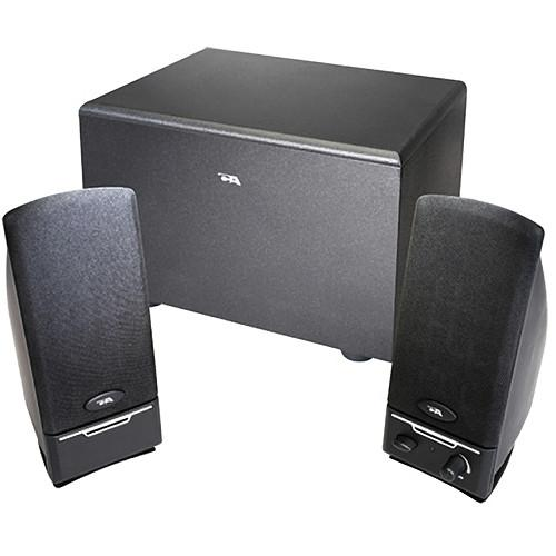 Cyber Acoustics CA-3001 3-Piece Subwoofer and CA-3001RB