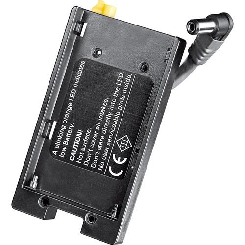 Dedolight Nikon EN-EL3e Battery Shoe for Ledzilla, DLOBML-PBN1