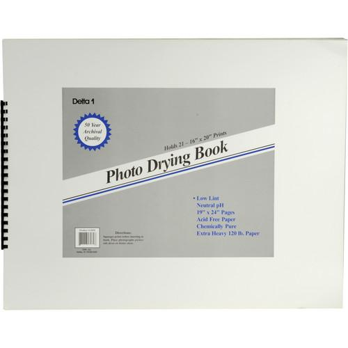Delta 1  Photo Drying Book (19 x 24
