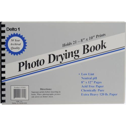Delta 1  Photo Drying Book (8 x 12