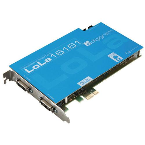 Digigram LoLa16161 - PCIe Multi-Channel Digital VB2086A0201