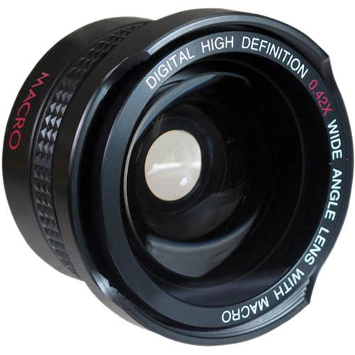 Digital Concepts 0.42x Wide-Angle Lens (37mm, Black) 2237W