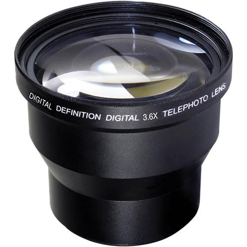 Digital Concepts 3.6x Telephoto Lens (52mm, Black) 3652T