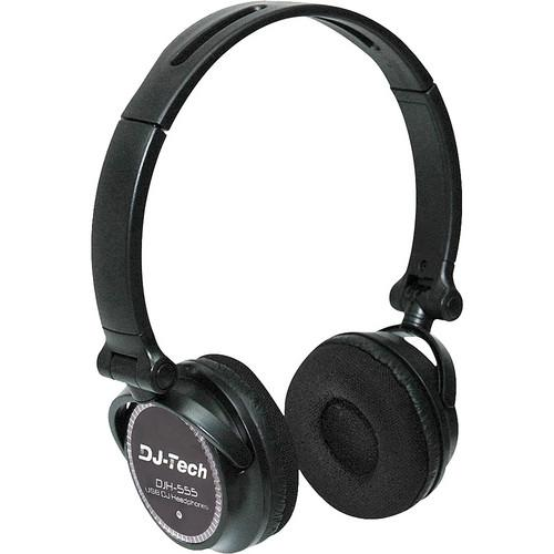 DJ-Tech  DJH-555 USB DJ Headphone DJH-555