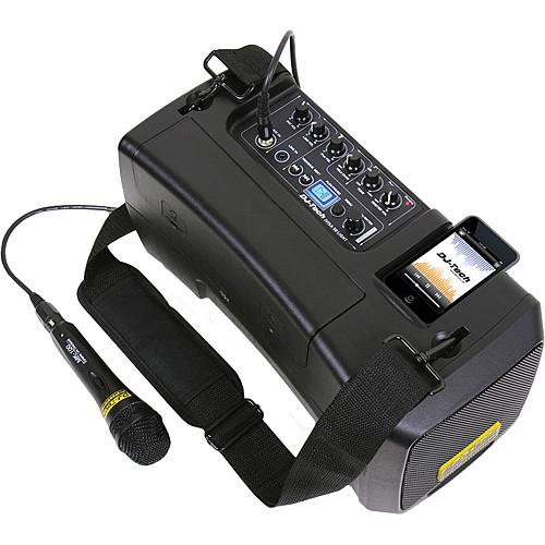 DJ-Tech iVisa 50 Light Portable PA System IVISA 50 LIGHT