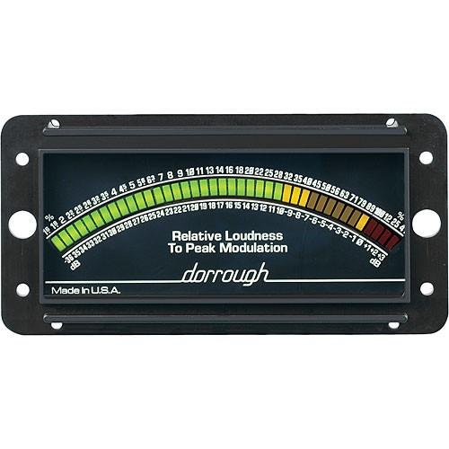 Dorrough Loudness Meter w/Percent Modulation 10-B