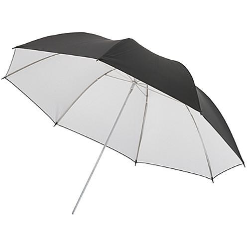 Dynalite Umbrella with White Interior and Black Backing UBBW-44