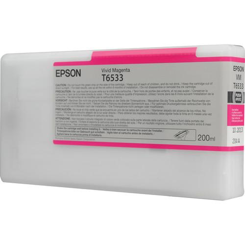 Epson Ultrachrome HDR Vivid Magenta Ink Cartridge T653300