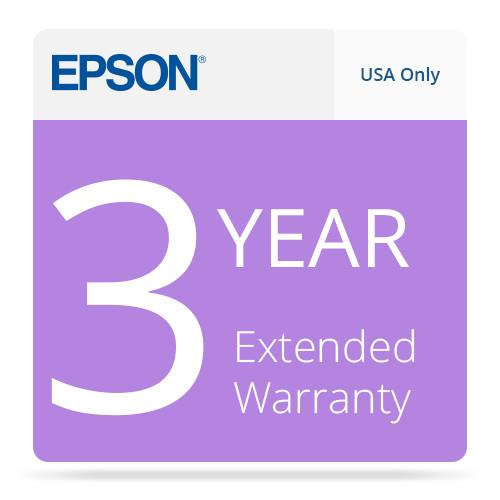 Epson USA 3-Year Extended Warranty Upgrade EPPSNPDSCB3
