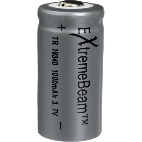 ExtremeBeam CR123A 3.7V 1000mAh Rechargeable Li-ion EB-XB-A01