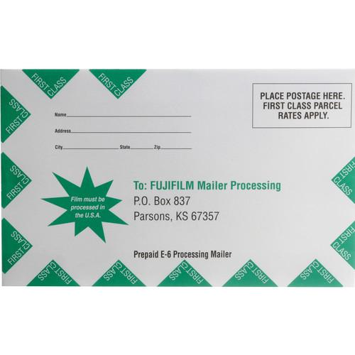 Fujifilm Slide Processing Mailer for One 35mm or 120 600000007
