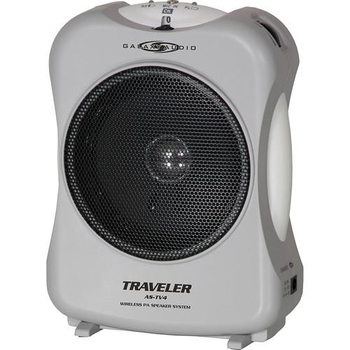 Galaxy Audio Traveler 4 Compact 10 Watt Portable PA System