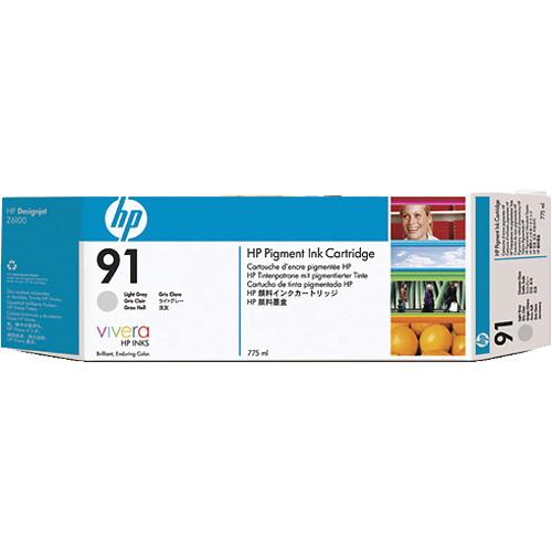 HP HP 91 775-ml Pigment Light Gray Ink Cartridge (3 Pack) C9482A