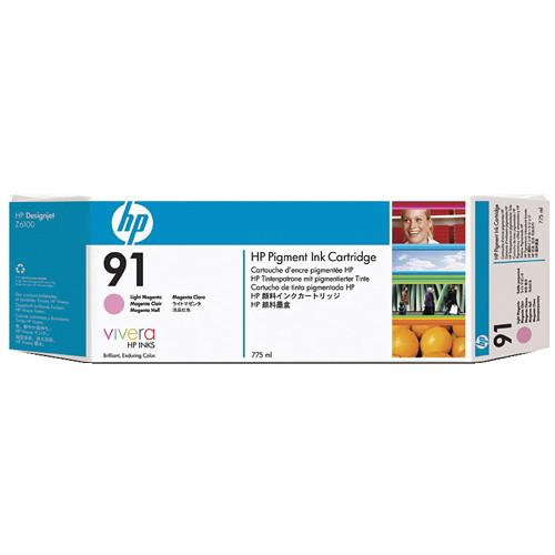 HP HP 91 775-ml Pigment Light Magenta Ink Cartridge C9471A