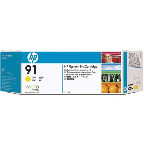 HP HP 91 775-ml Pigment Yellow Ink Cartridge C9469A