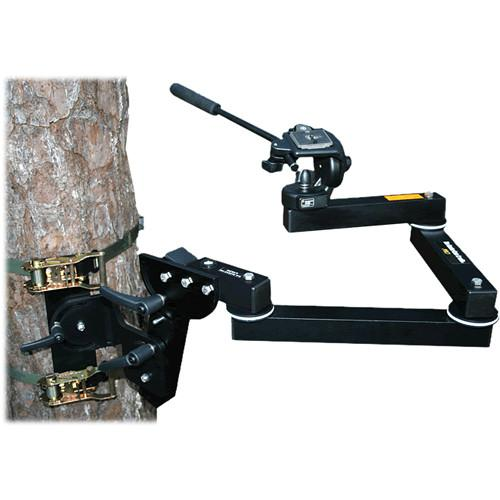HunterCam Cradle PRO with Manfrotto 128RC CLAMP-A-CAM PRO