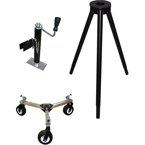 Jony Heavy-Duty Tripod with Mitchell Mount & JJ PRO SUPPORT