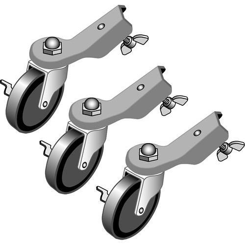 Lowel  Casters - Set of 3 LC