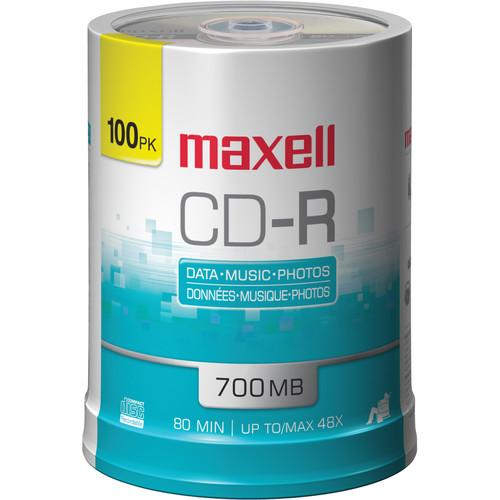 Maxell  CD-R 700MB Disc (100)