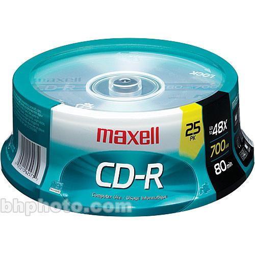 Maxell  CD-R 700MB Disc (25) 648445