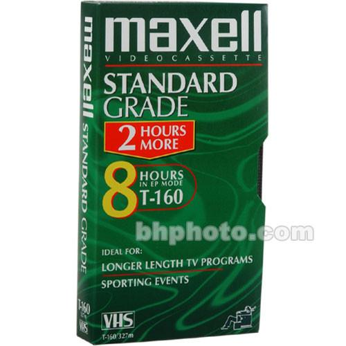 Maxell  STD-160 VHS Video Cassette 213010