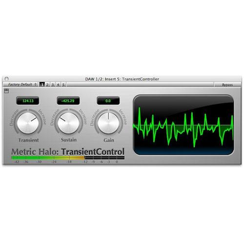 Metric Halo Transient Control - Dynamics DSP for Mobile 72810-97