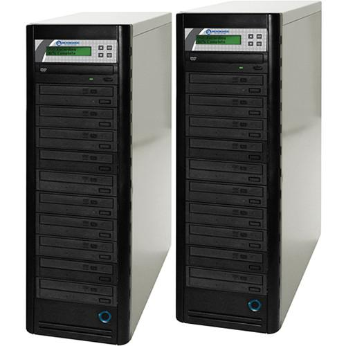 Microboards 20-Drive Daisy-Chainable DVD Tower DVD PRM NET-20