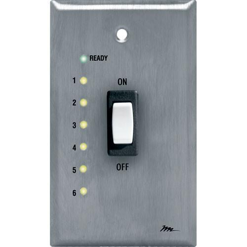 Middle Atlantic USC-SWL Remote Wallplate Switch with LEDs